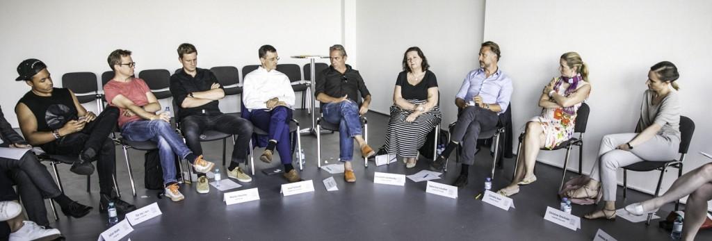 UNTEN Roundtable, 18.7.2017, des Digital Hub Vienna in Kooperation mit Vangardist Magazine und weXelerate, Foto by Martin Darling