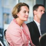 Katja Süß-Nimeh - UNTEN Round Table, 05.09.2017. Copyright: Digital Hub Vienna/Zytka