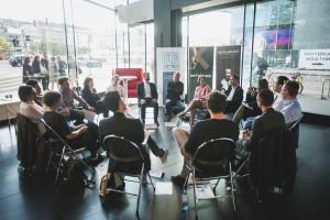 UNTEN Round Table, 05.09.2017. Copyright: Digital Hub Vienna/Zytka