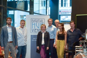 "UNTEN Roundtable No 7: > the other side - Part: 1 < zur Konferenz ""Challenging (the) Content - Content made in Europe in the digital economy"" von BM Gernot Blümel // 13.09.2018, // weXelerate // Fotocredit: Digital Hub Vienna/Hron."